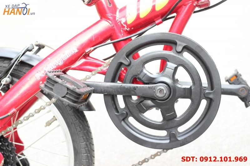 Xe đạp gập Nhật bãi XMH