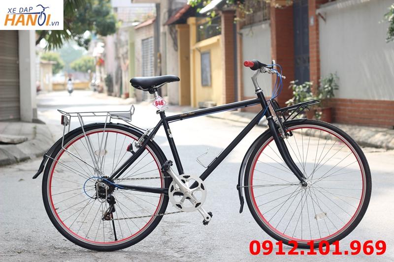 Xe đạp touring Nhật bãi Limited Remix
