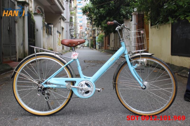 Xe đạp Nhật bãi bé gái Jimlet