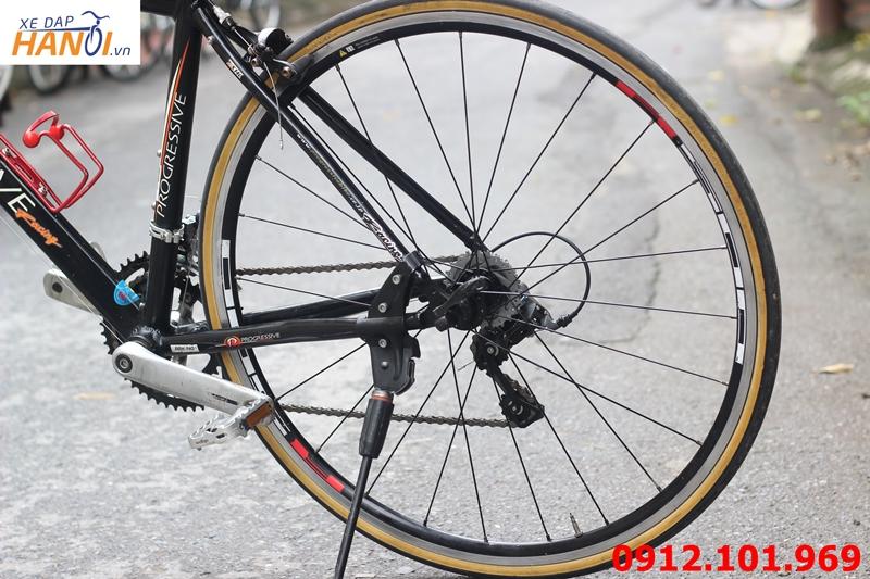 Xe đạp road Nhật bãi Progressive Rapidly