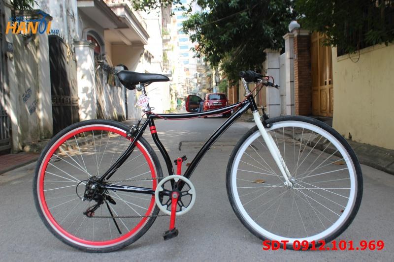 Xe đạp Touring Nhật