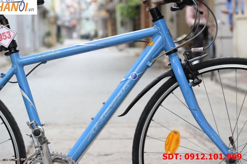 Xe đạp touring Nhật bãi Anchor xanh
