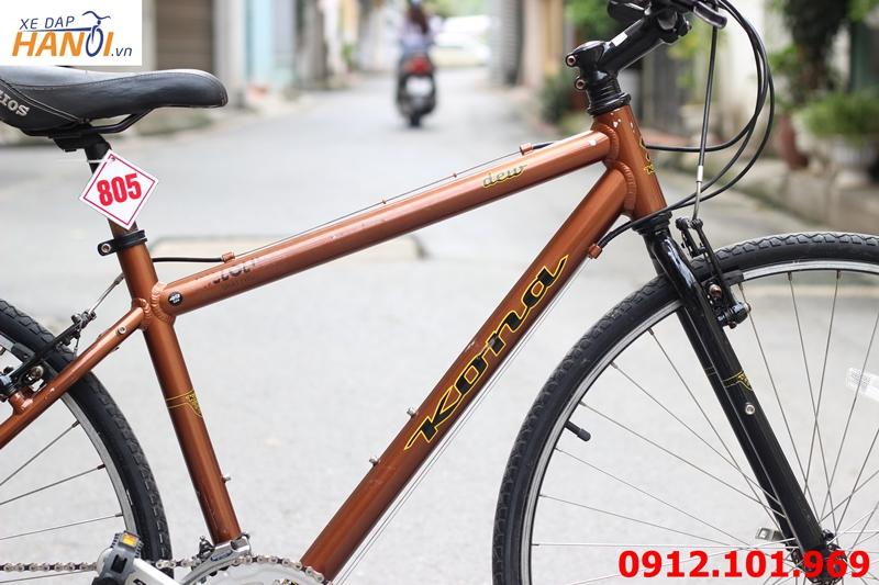 Xe đạp touring Nhật bãi Kona dew