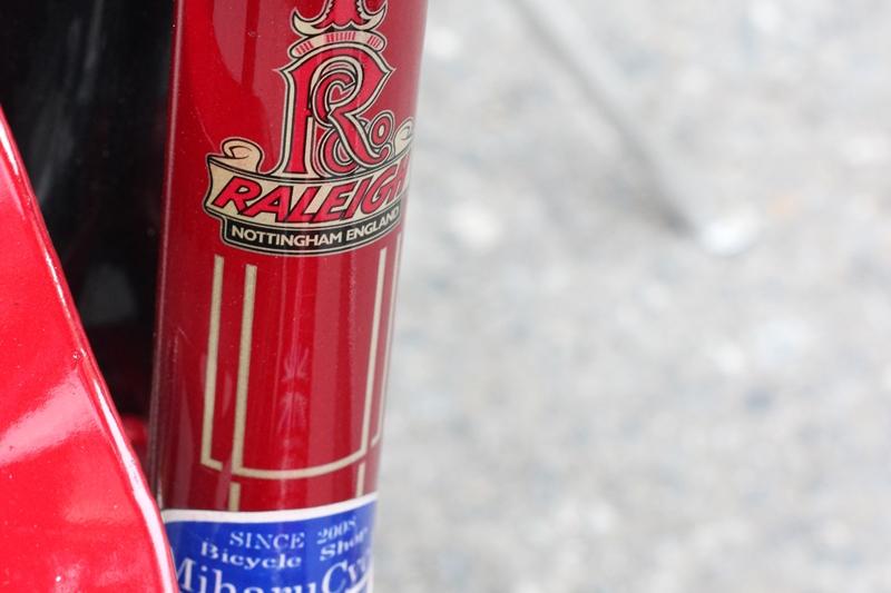 Xe đạp touring Nhật bãi Raleigh