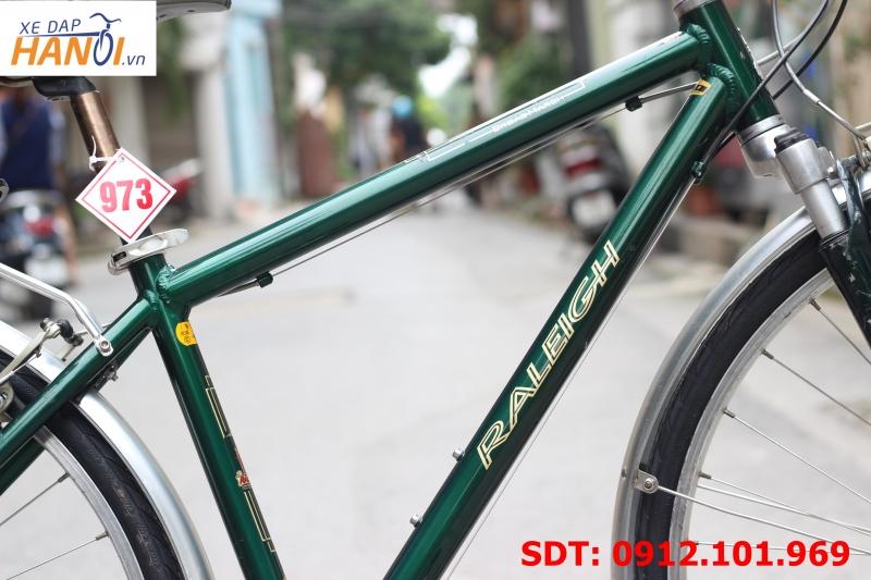Xe đạp touring Nhật bãi Raleigh BroadMarsh