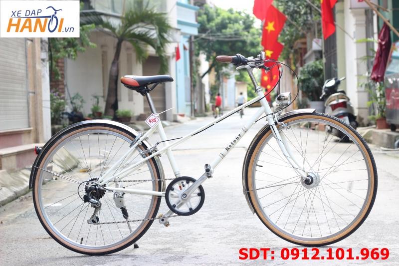 Xe đạp touring Nhật bãi Retour
