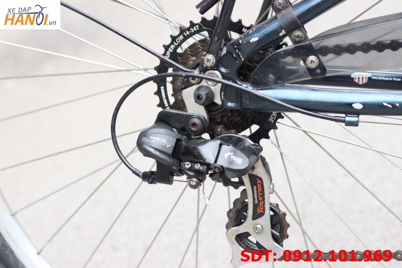 Xe đạp touring Nhật bãi Shwinn World S