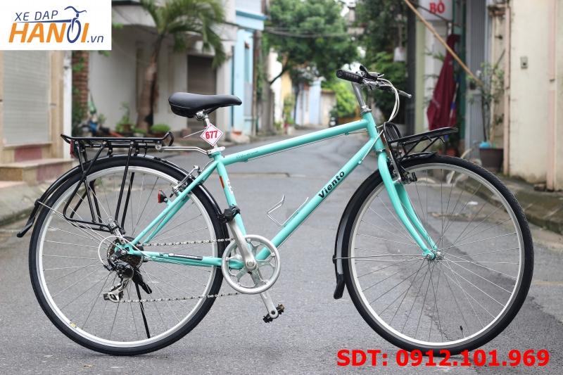 Xe đạp touring Nhật bãi Viento