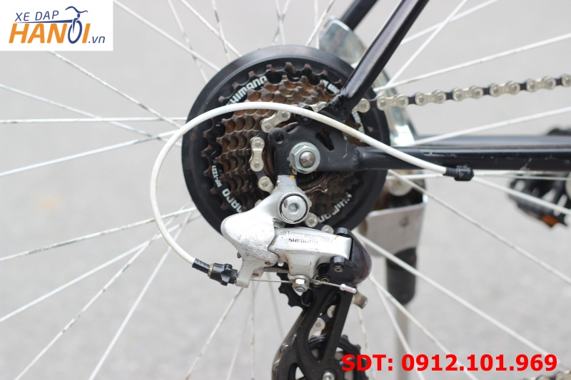 Xe đạp touring Nhật bãi Cycle Studio.Silver ring