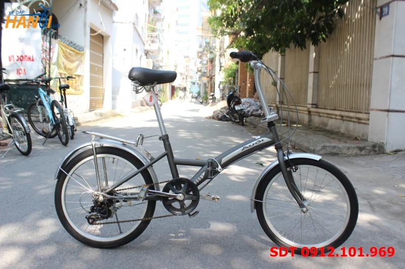 Xe đạp gập Nhật bãi Audi