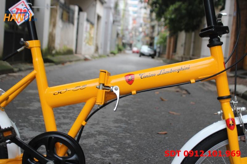 Xe đạp Nhật bãi gập Lamborghini Torino