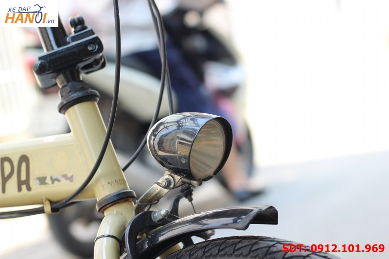 Xe đạp gập Nhật bãi Vispa