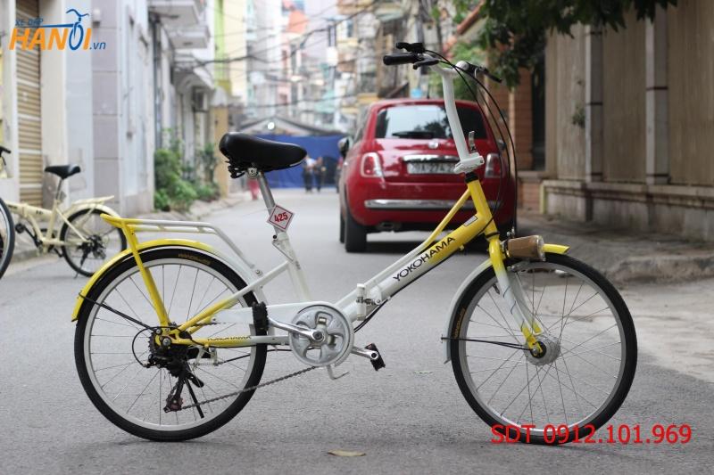 Xe đạp gập Nhật bãi Yokohama