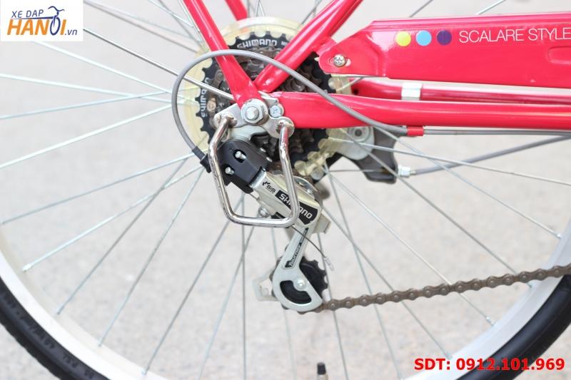 Xe đạp bé gái Nhật bãi Scalare