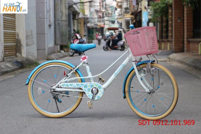 Xe đạp Nhật bãi Chianti cho trẻ khoảng từ 8 tuổi.