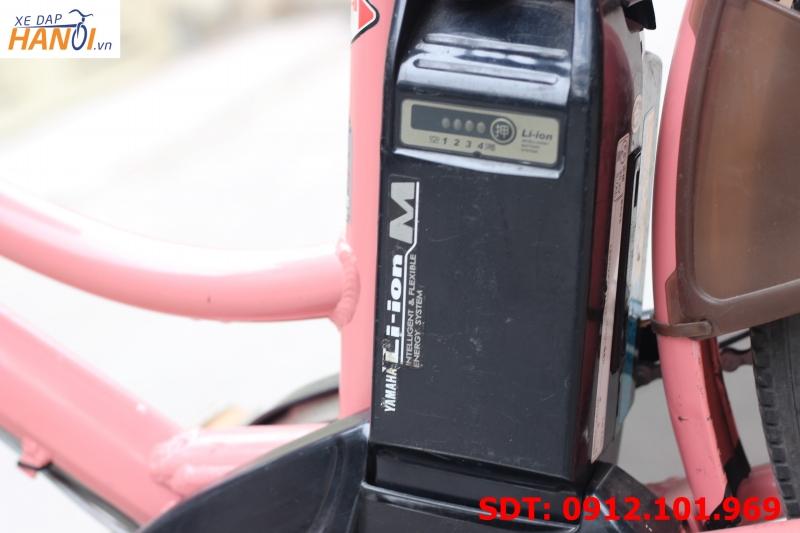 Xe đạp trợ lực điện Nhật bãi Yamaha Pas City