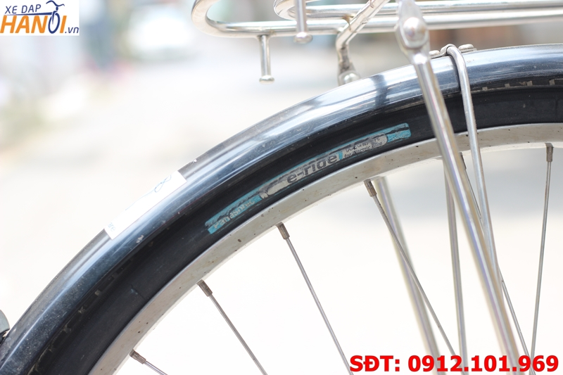 Xe đạp trợ lực Nhật bãi Yamaha Pas City