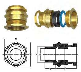 ỐC SIẾT CÁP A1/A2 (INDUSTRIAL CABLE GLAND)