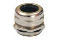 NIKEL PLATED BRASS GLAND-IP 68 RATING-METRIC THREAD
