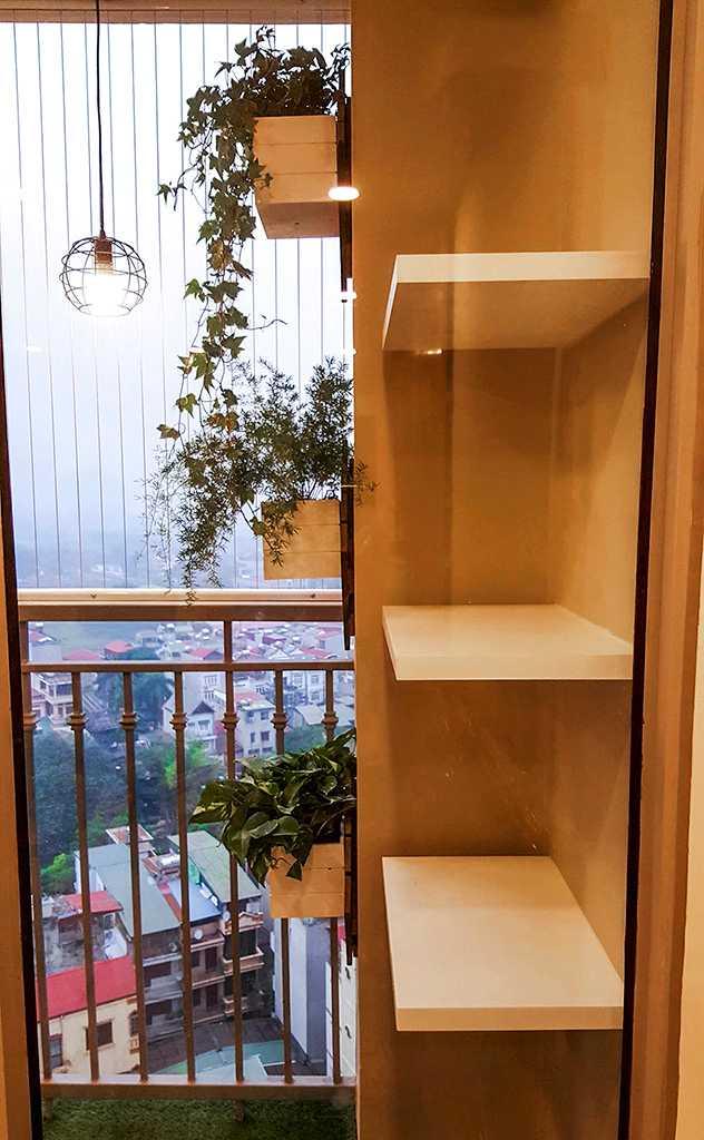 Ban công chung cư Vinhome Gardenia Mỹ Đình đẹp