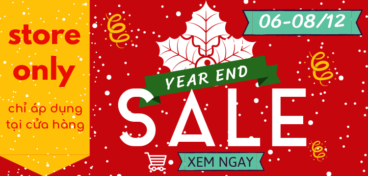 [06-08/12/2019] YEAR END SALE 2019