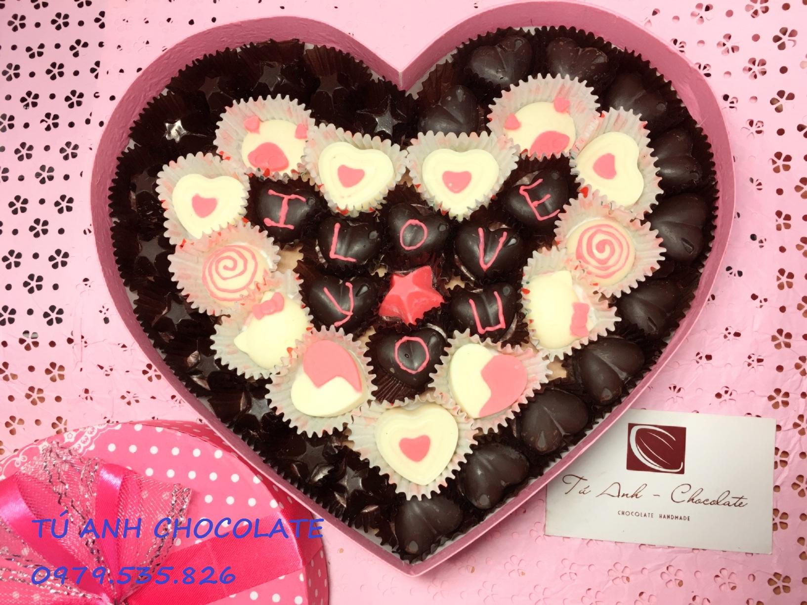 bán sỉ socola valentine 2018 tại  Tú Anh