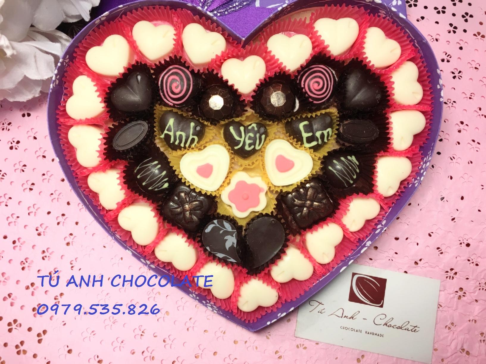Bán buôn bán lẻ socola valentine