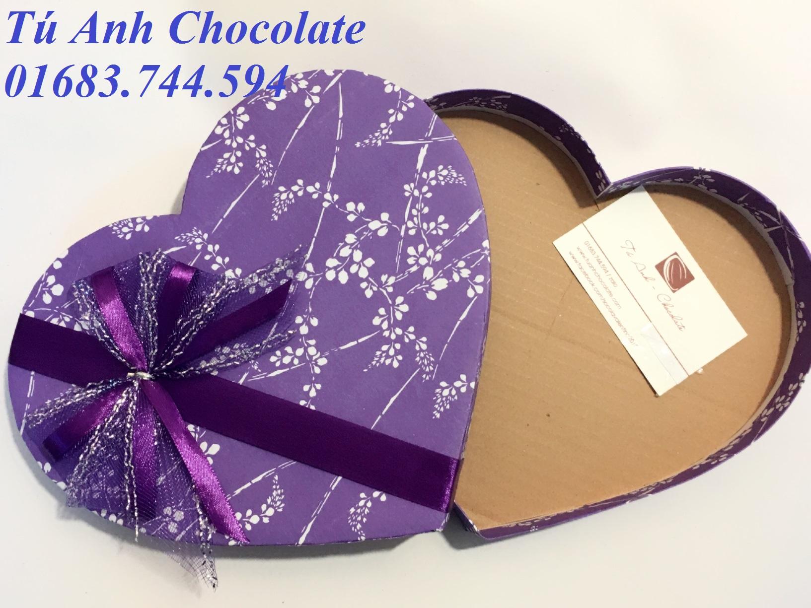 Bán buôn hộp đựng socola hình tim