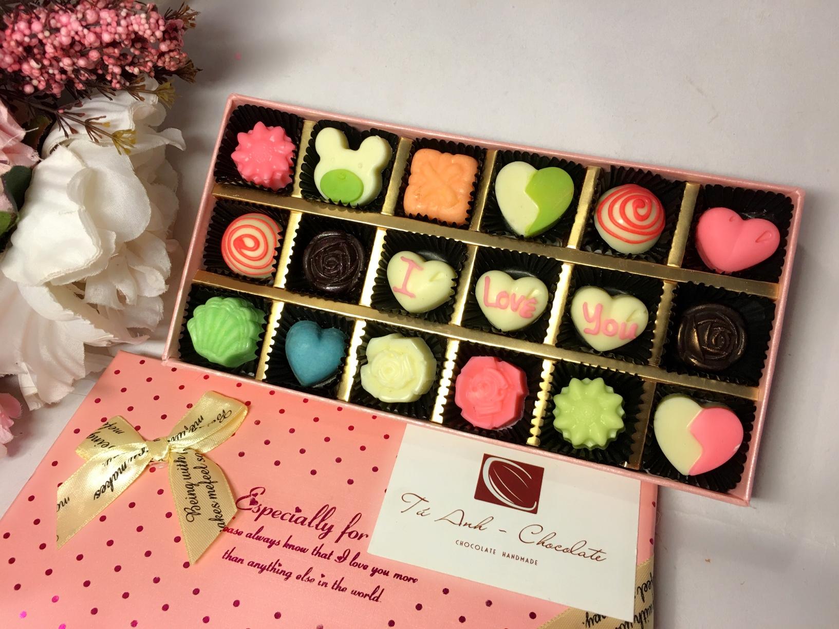 Socola-Món quà của tình yêu!