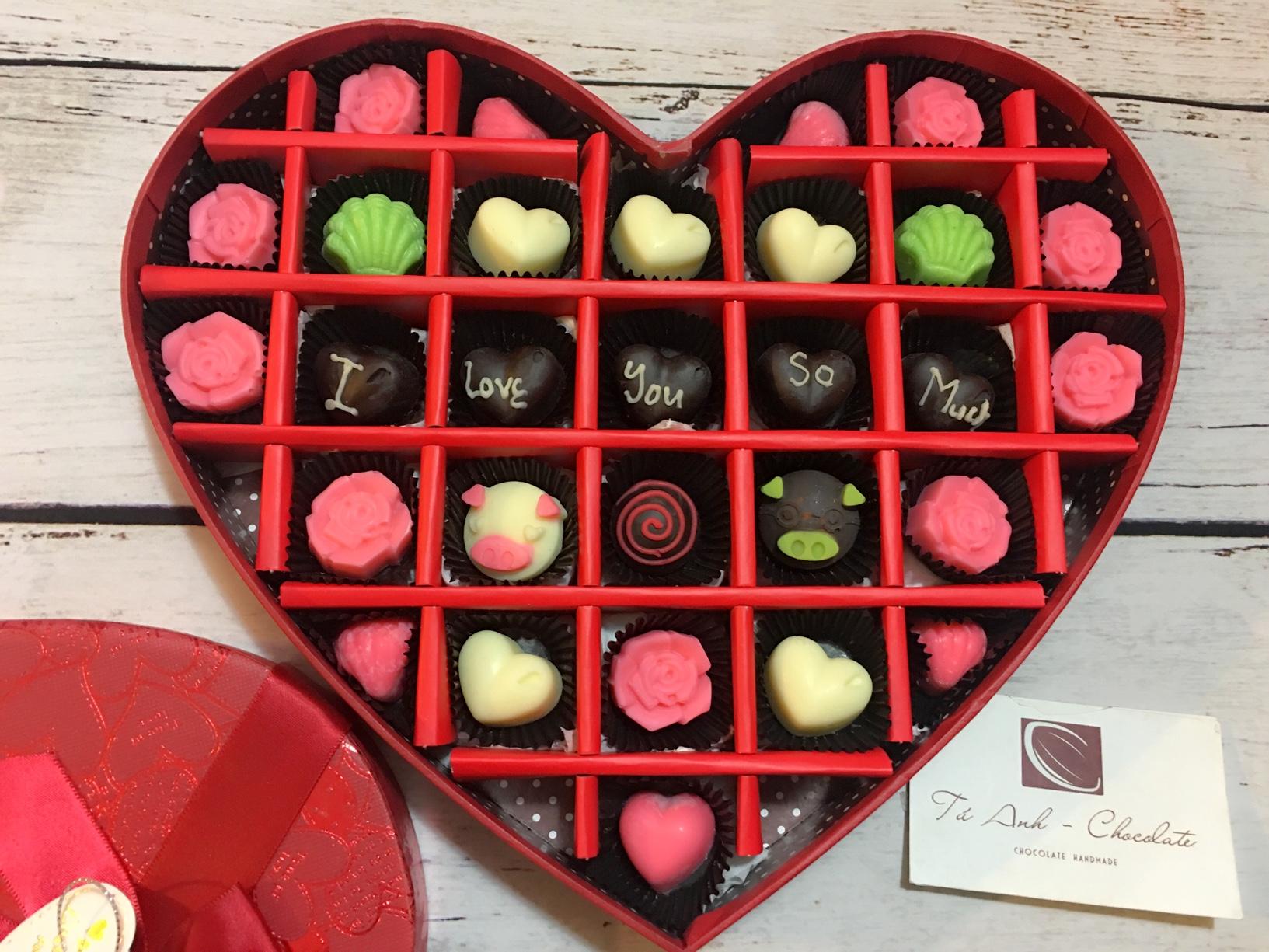 Socola valentine-TÚ ANH CHOCOLATE