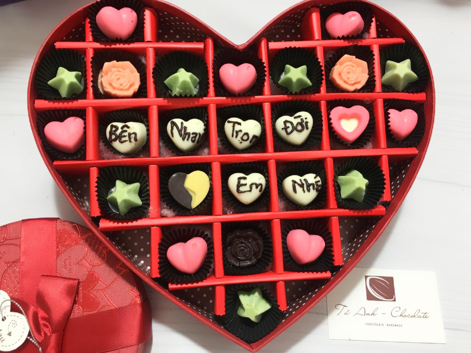 Mẫu socola valentine mới nhất- TÚ ANH SHOP
