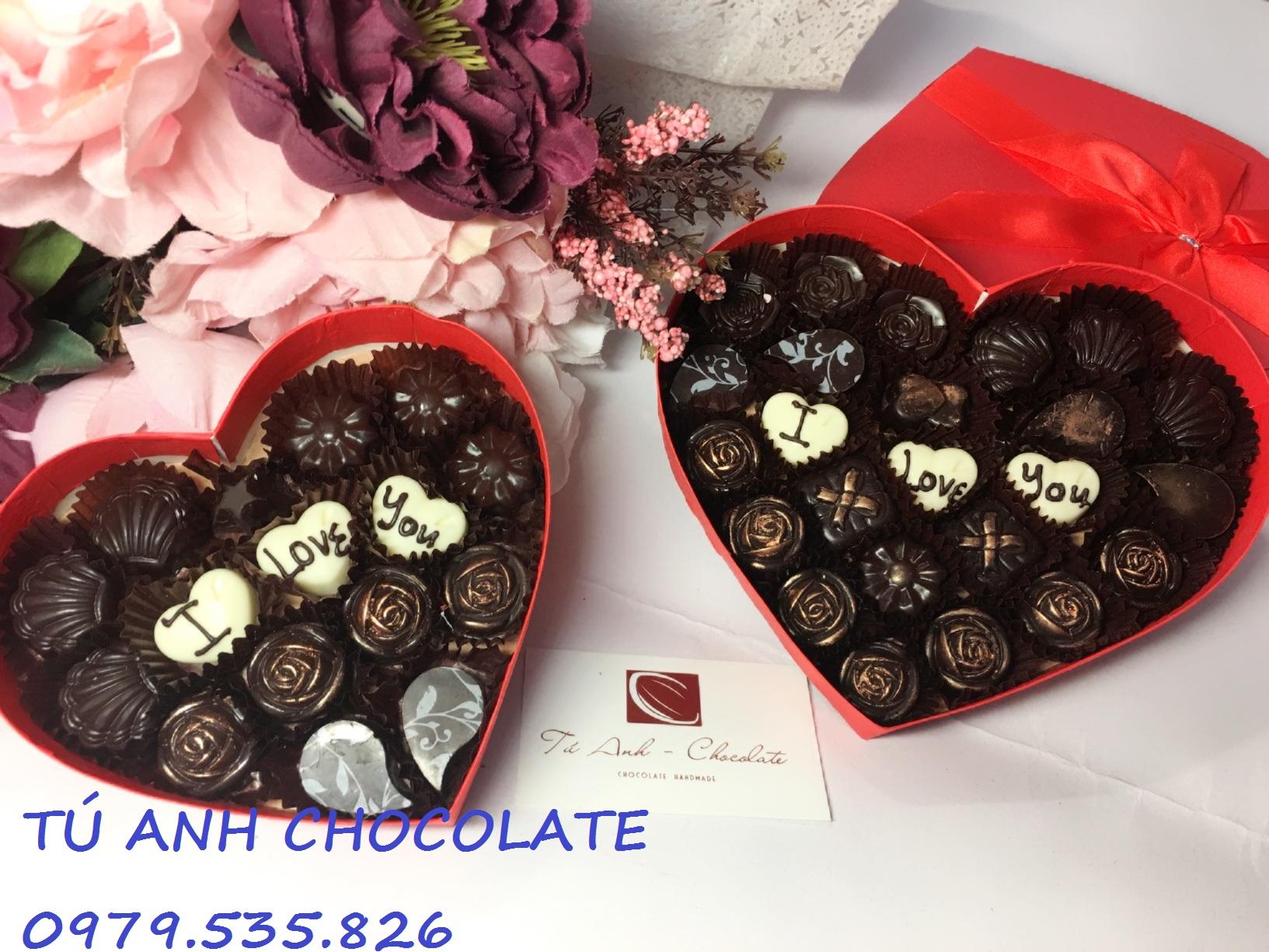 Quà tặng socola valentine sang trọng
