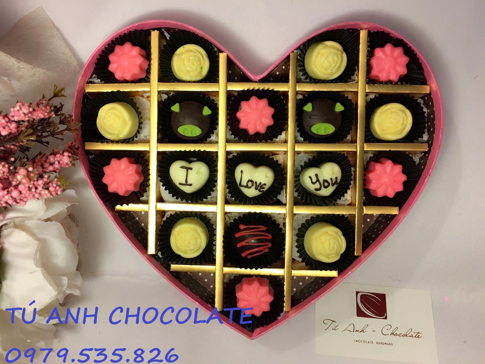 Quà tặng socola valentine  ý nghĩa