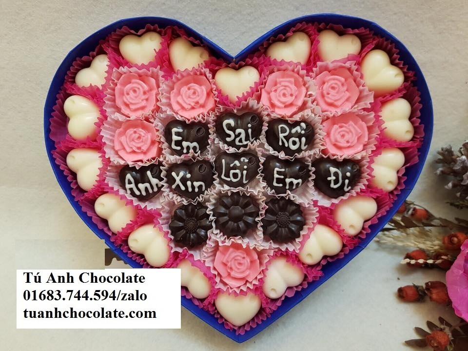 Ss61: socola quà tặng valentine 2018