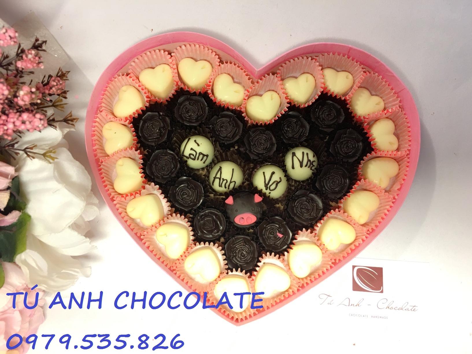 Socola quà tặng valentine ấn tượng