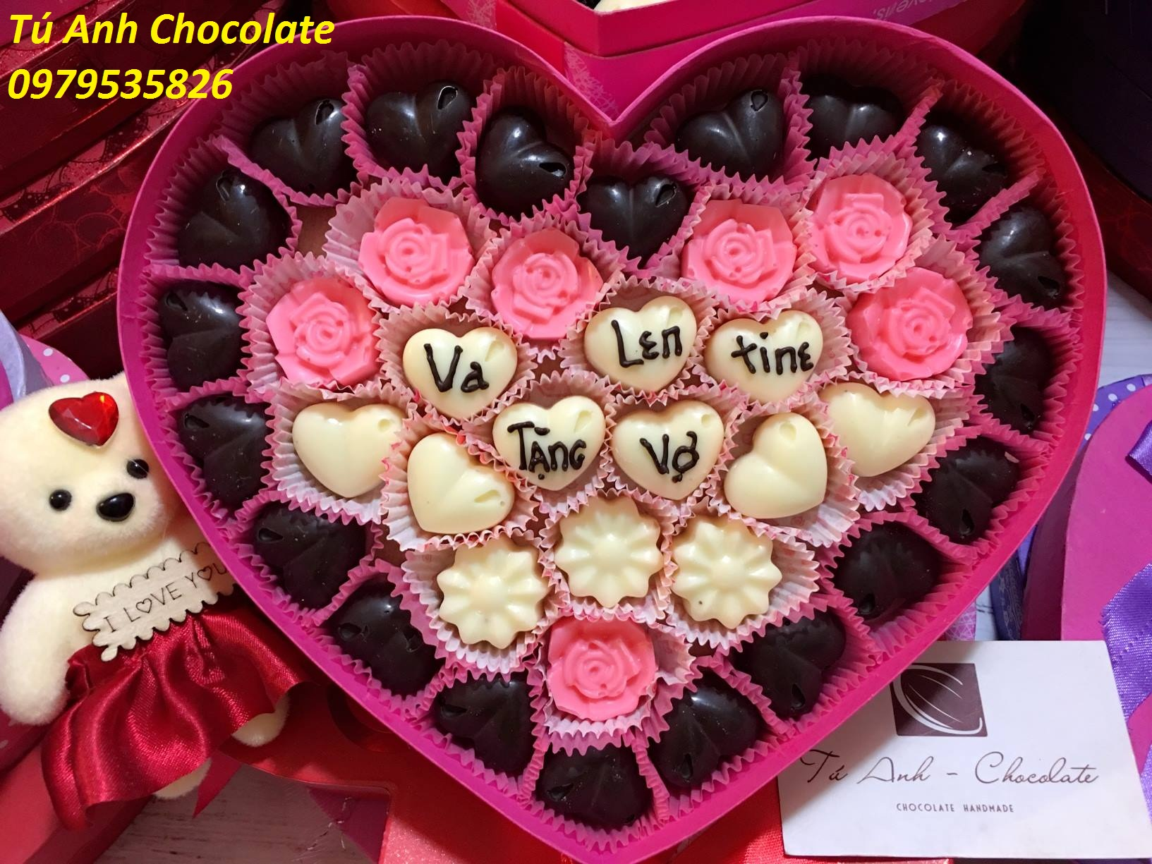 socola valentine Bắc Giang