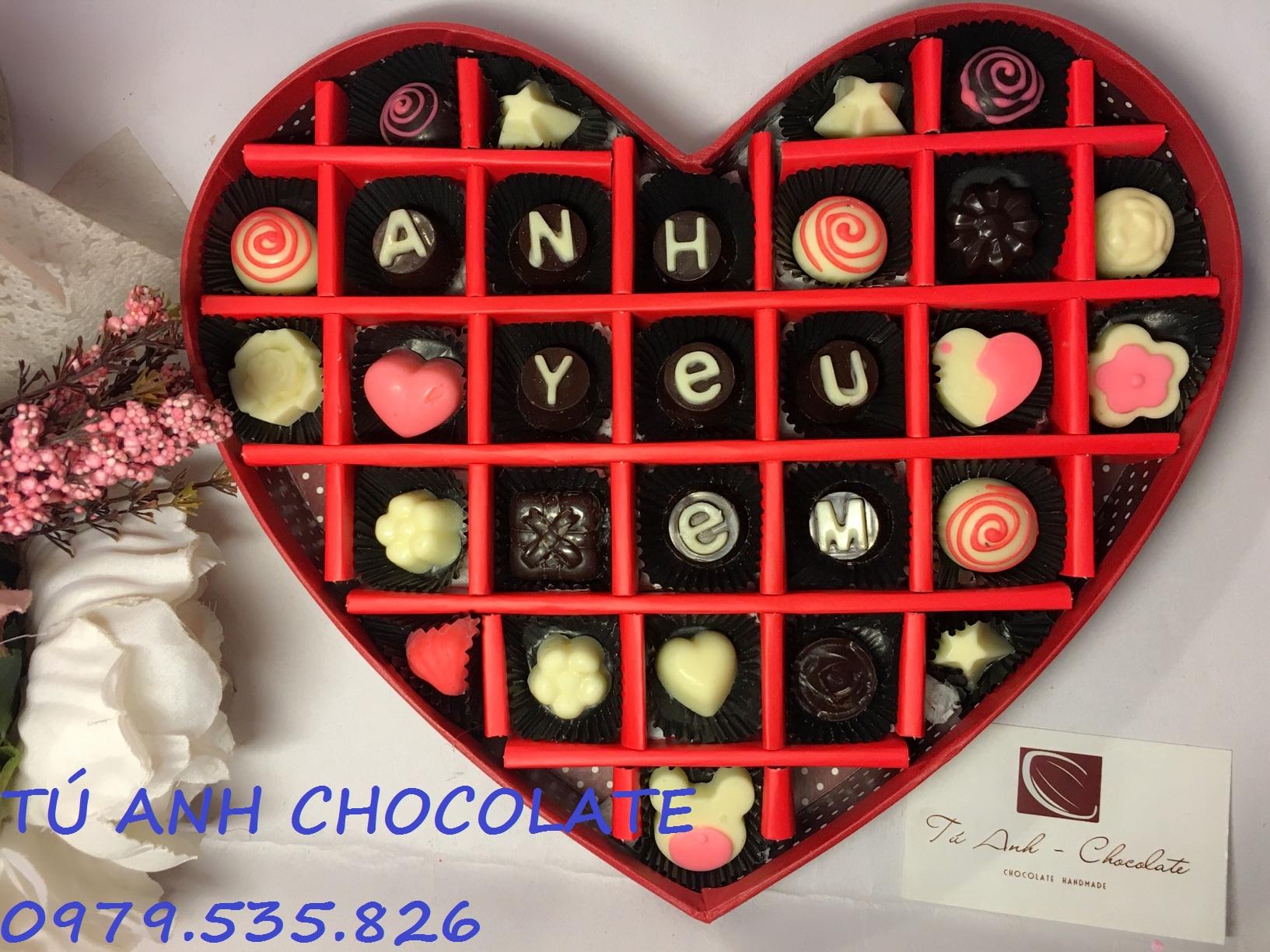 Socola valentine cực ngon - TÚ ANH CHOCOLATE