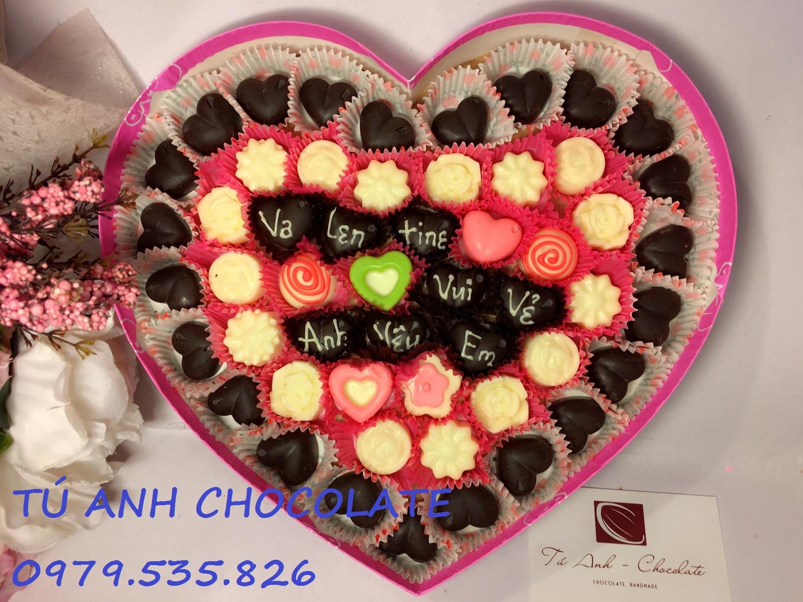 Socola valentine giá rẻ tại Hà Nội