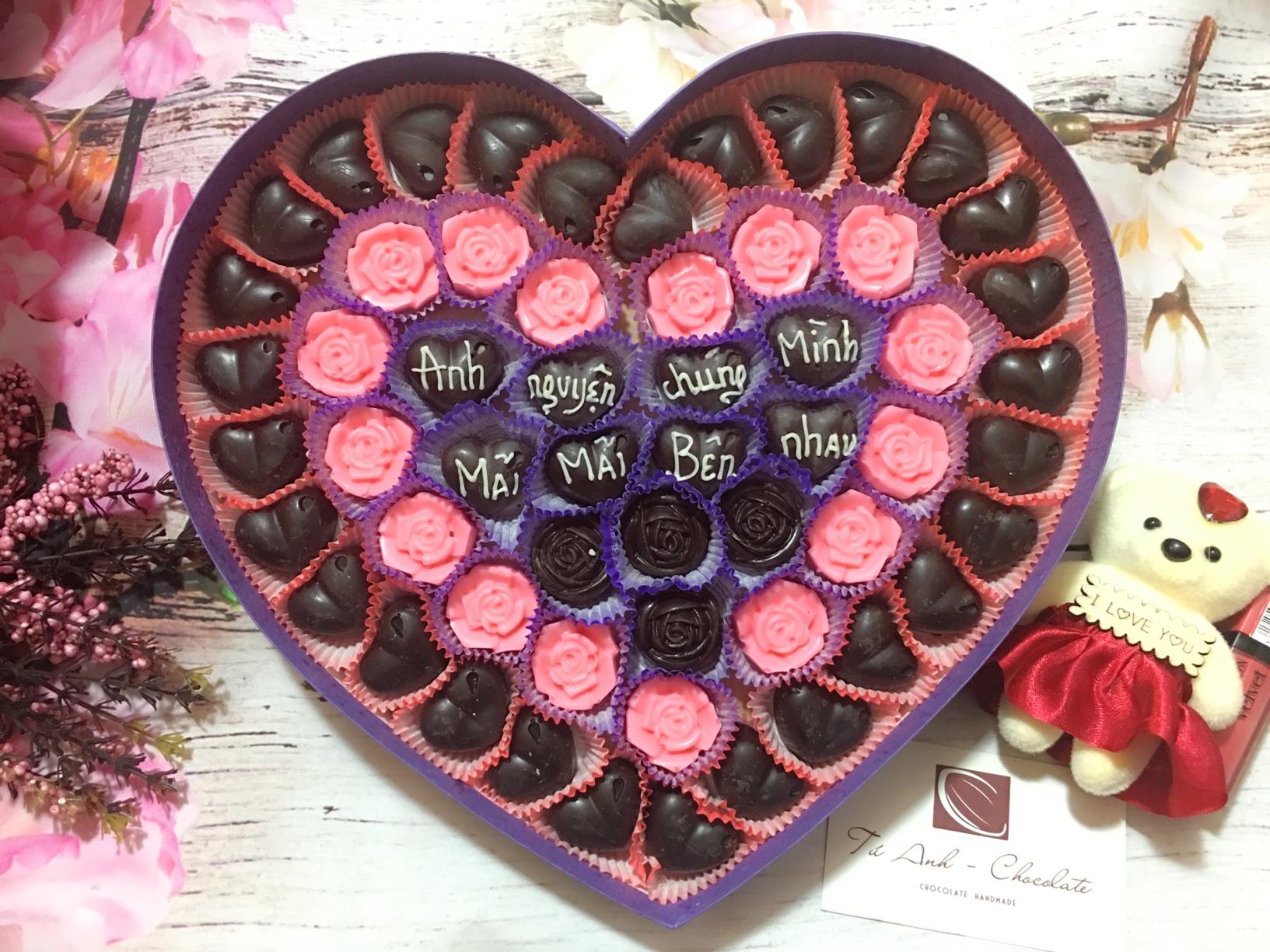 socola valentine tình yêu