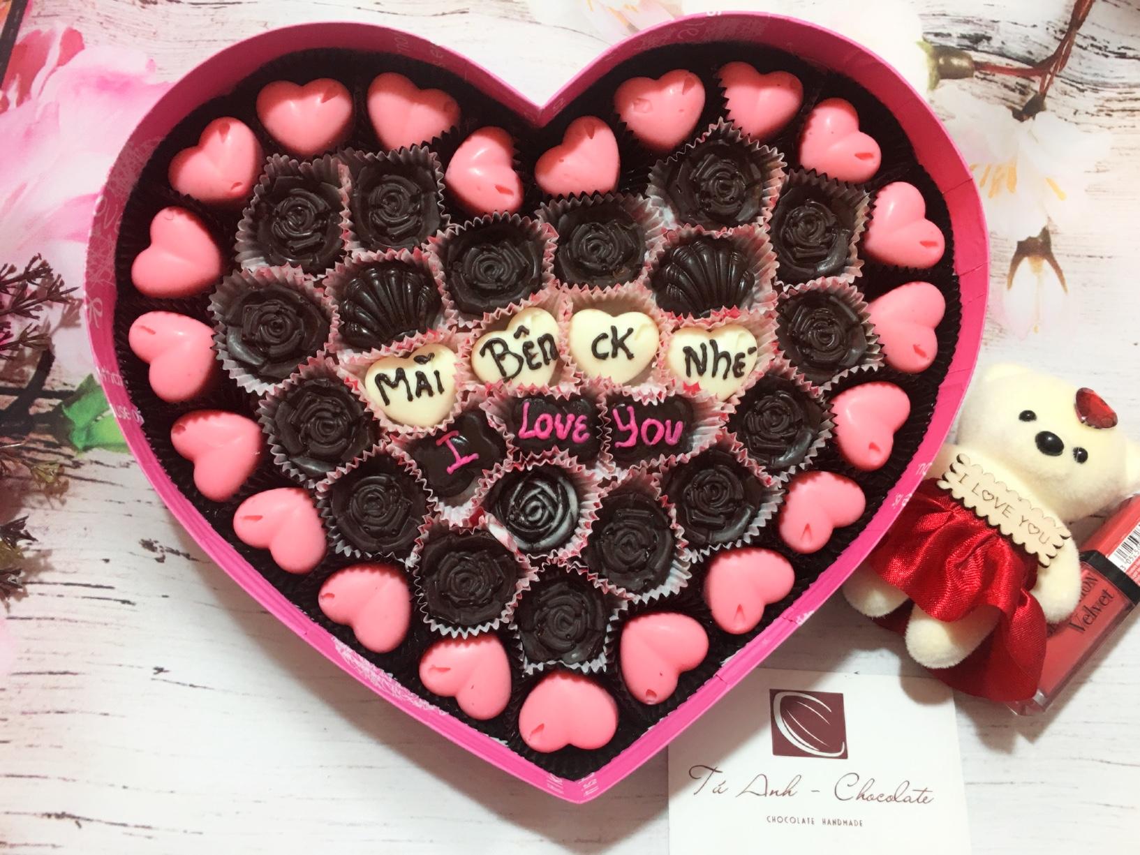 Thế giới socola valentine tình yêu