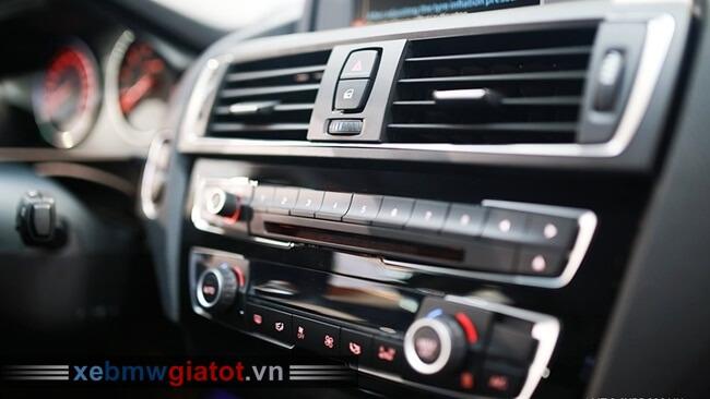 dàn điều hòa hàng ghế trước xe BMW 118i hatchback