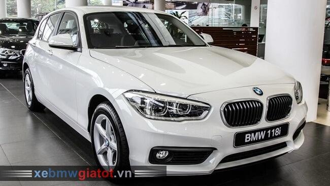 ngoại thất xe BMW 118i hatchback 2017 mới