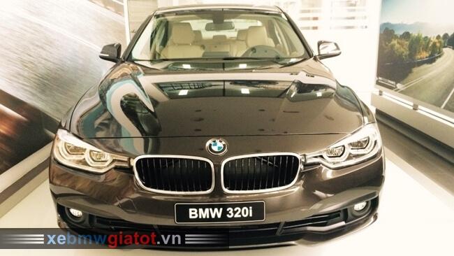 Xe BMW 320i màu nâu Jatoba
