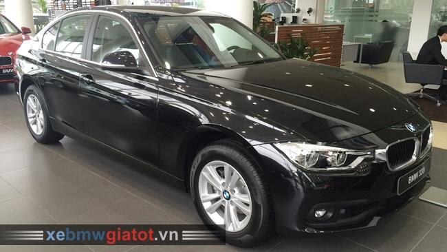 Xe BMW 320i màu đen Sapphire