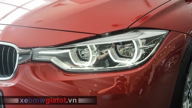 Cụm đèn pha xe BMW 320i