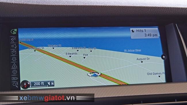 màn hình giải trí xe BMW M5 mới