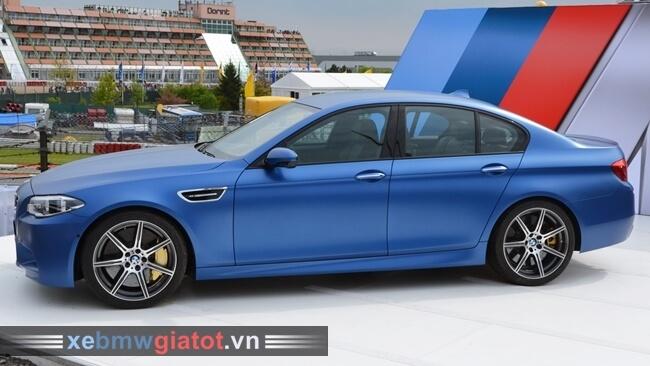 kiểu dáng thân xe BMW M5 2017 mới