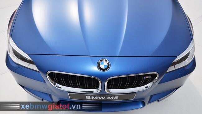 đầu xe BMW M5 2017 mới