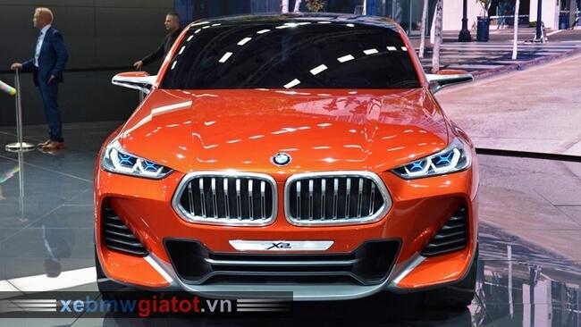 đầu xe BMW X2 mới