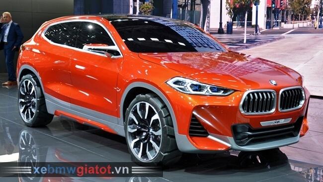 BMW X2 hoàn toàn mới